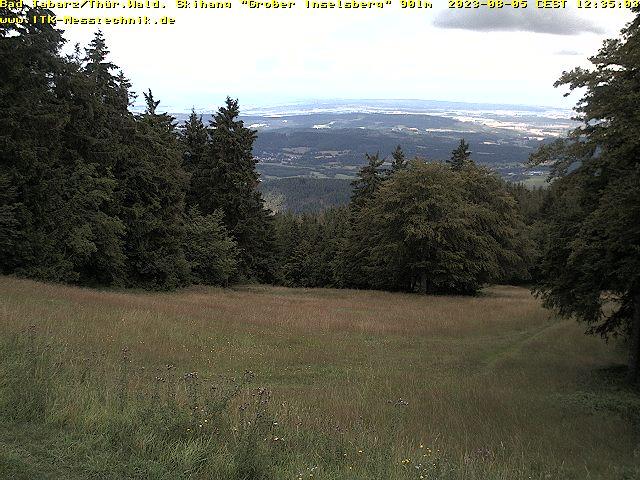 Webcam Skigebied Tabarz - Inselsberg - Datenberg Thüringer Woud